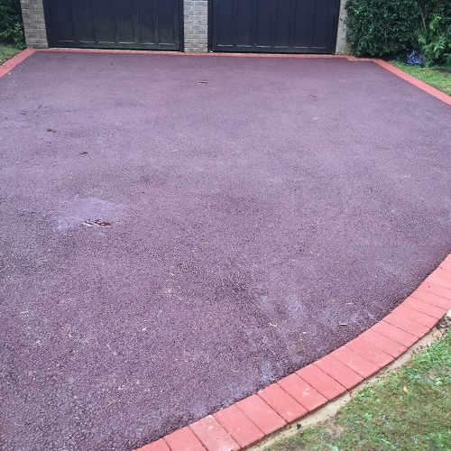SNT Landscapes Horley Surrey Coloured Tarmac Driveway