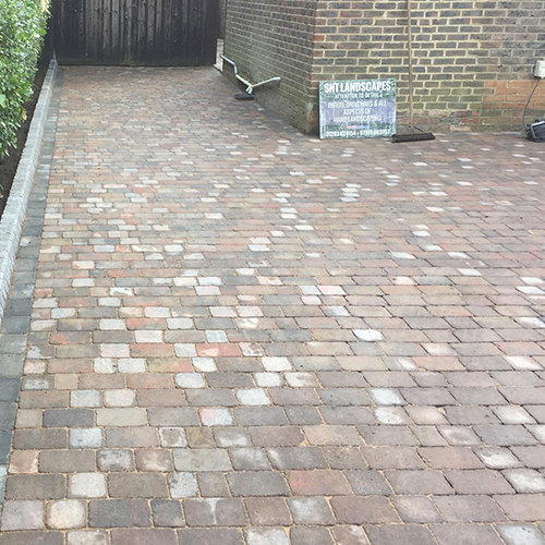 SNT Landscapes Horley Surrey Block Paving Driveway