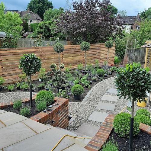 SNT Landscapes Landscaping Horley Garden