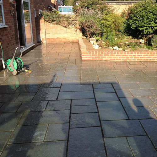 SNT Landscapes Patios and Paving Horley grey 2